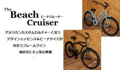 The beach cruiser  (�U�@�r�[�`�N���[�U�[)�@�ʔ�